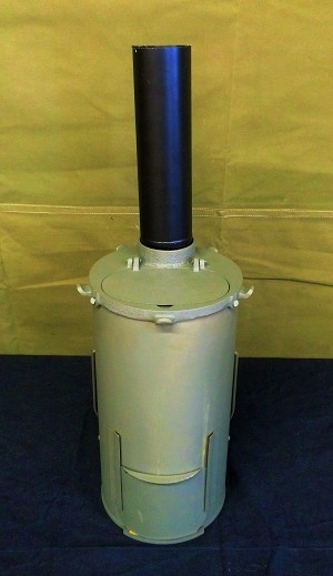 "12"" CHIMNEY PIPE - for WWII GERMAN BUNKER STOVE"