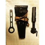 WWII German Rifle Grenade Launcher Kit (Launcher, Wrench,Pouch)