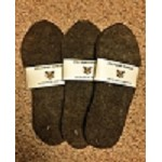 WWII ALPACA FELT BOOT INSOLE LINERS - ONE SIZE FITS ALL